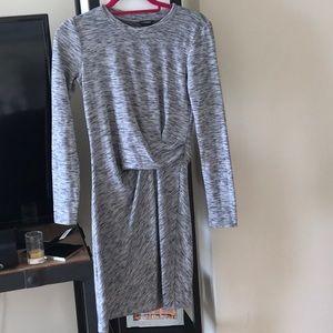Very flattering club Monaco grey dress size 0